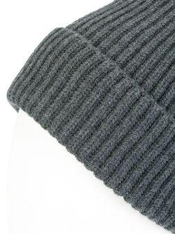 Шапка-Бини В Рубчик Stella Mccartney                                                                                                              серый цвет