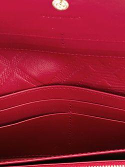 Кошелек С Откидным Клапаном Burberry                                                                                                              красный цвет
