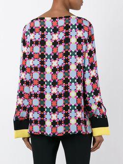 Топ С Узором Emilio Pucci                                                                                                              многоцветный цвет