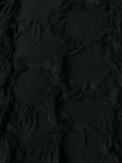 Топ С Бахромой Federica Tosi                                                                                                              черный цвет