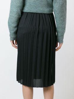 Плиссированная Юбка Isabel Marant Étoile                                                                                                              чёрный цвет