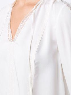 Tassel Detail Blouse Elie Tahari                                                                                                              белый цвет