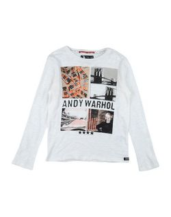 Футболка Andy Warhol By Pepe Jeans                                                                                                              белый цвет