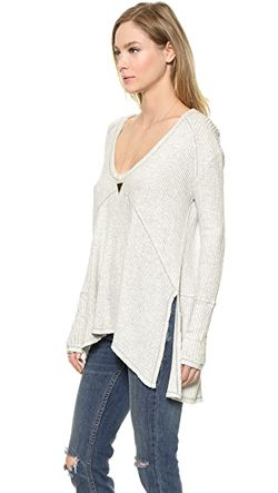 Топ Drippy Thermal Sunset Park Free People                                                                                                              None цвет