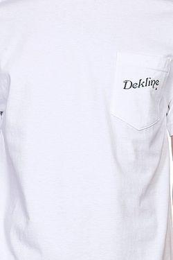Футболка Greetings Cream Dekline                                                                                                              белый цвет