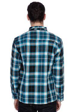 Рубашка Утепленная Not Bad Plaidturquoise Enjoi                                                                                                              синий цвет