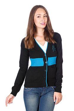 Кардиган Женский Arrow Sweater Black Zoo York                                                                                                              чёрный цвет