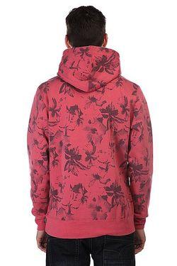 Кенгуру Floral Pullover Hood Salmon Floral Huf                                                                                                              розовый цвет
