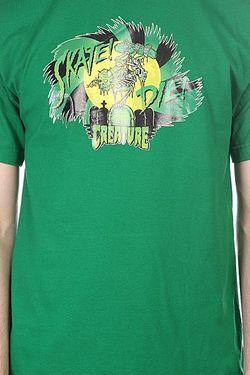 Футболка Tribute Kelly Green Creature                                                                                                              зелёный цвет
