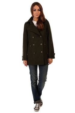 Пальто Женское Sargeant Pepper Green Insight                                                                                                              зелёный цвет