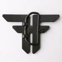 Пряжка Trademark Buckle Matte Black Fallen                                                                                                              чёрный цвет