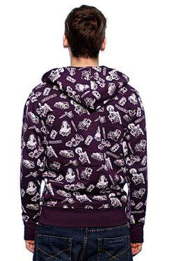 Толстовка Утепленная Mexi Deep Purple Circa                                                                                                              фиолетовый цвет