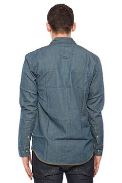 Рубашка Heist Shirt Dusk Globe                                                                                                              синий цвет