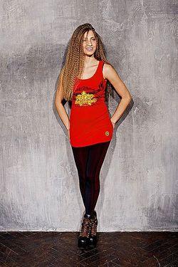 Платье Женское Hot Coctail Red A-One                                                                                                              красный цвет