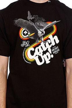 Футболка Catch Up! Tee Black LRG                                                                                                              None цвет
