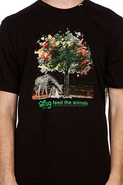 Футболка Feed The Animals Tee Black LRG                                                                                                              None цвет