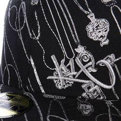Бейсболка Newera Let The Chain Hang Low K1X                                                                                                              чёрный цвет