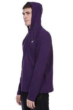 Толстовка Cc Striped Hooded Henly Purple LRG                                                                                                              None цвет