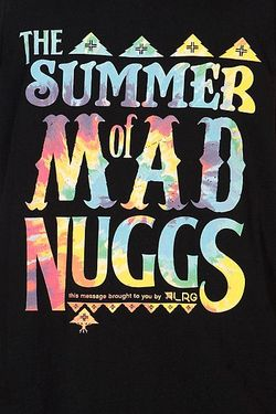 Майка Mad Nuggs Tank Top Black LRG                                                                                                              None цвет