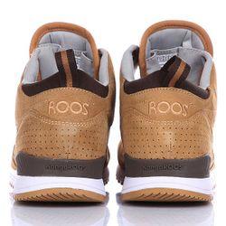 Кеды Кроссовки Высокие Frenzy Roos Wheat/Dk Brown KangaROOS                                                                                                              коричневый цвет