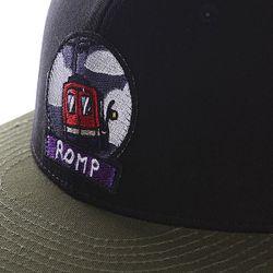 Бейсболка Snapback Black/Khaki Romp                                                                                                              черный цвет