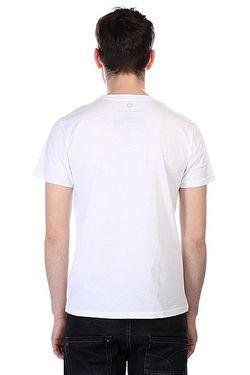 Футболка Nevernotskateboarding White Tcekh                                                                                                              белый цвет