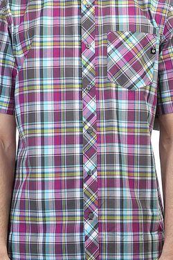 Рубашка В Клетку Homestead Slate Grey Marmot                                                                                                              фиолетовый цвет