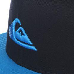 Бейсболка Stuckles Hats Hawaiian Ocean Quiksilver                                                                                                              синий цвет