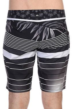 Шорты Пляжные Ygremixstrp Bdsh Black Quiksilver                                                                                                              чёрный цвет