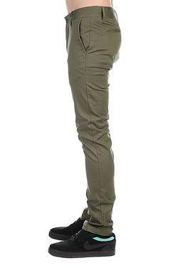 Штаны Прямые Davis Slim Chino Olive Altamont                                                                                                              зелёный цвет