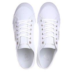 Кеды Кроссовки Deauville Plus White/Silver Le Coq Sportif                                                                                                              белый цвет