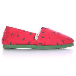 Эспадрильи Женские Fruits Fitted Sandia Paez                                                                                                              красный цвет