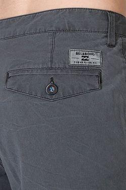 Шорты New Order Charcoal Billabong                                                                                                              серый цвет