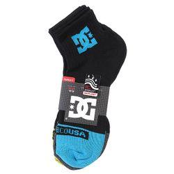 Носки Средние Dc 3pk Sport Essential Black Dcshoes                                                                                                              голубой цвет