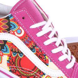 Кеды Кроссовки Низкие Женские Old Skool Geo Vans                                                                                                              розовый цвет