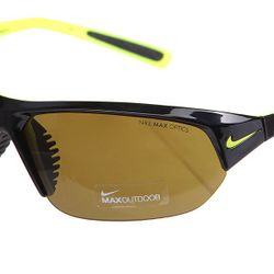 Очки Skylon Ace Outdoor Lens Matte Black/Voltage Nike                                                                                                              желтый цвет