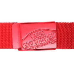 Ремень Conductor Web Belt Reinvent Red Vans                                                                                                              красный цвет