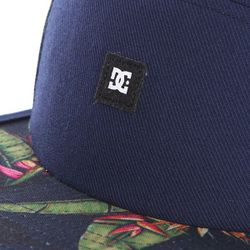Бейсболка Пятипанелька Dc Waterbed Hats Blue Iris Dcshoes                                                                                                              синий цвет
