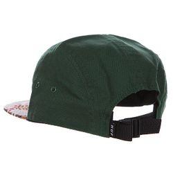 Бейсболка Пятипанелька Native Duck Volley Hunter Green/Late Huf                                                                                                              зелёный цвет