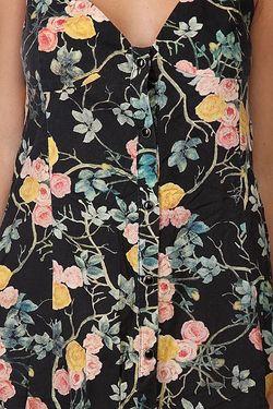 Платье Женское Flowery Multi Insight                                                                                                              черный цвет