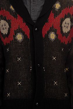 Кардиган Campfire Cardigan Sweater Black Nixon                                                                                                              черный цвет
