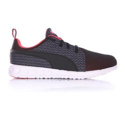 Кроссовки Женские Carson Runner Knit Cayenne/Black Puma                                                                                                              розовый цвет