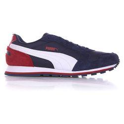 Кроссовки St Runner Nl Peacoat/White/Rio Red Puma                                                                                                              синий цвет