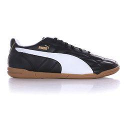 Кеды Кроссовки Низкие Classico It Black/White/Gold Puma                                                                                                              черный цвет