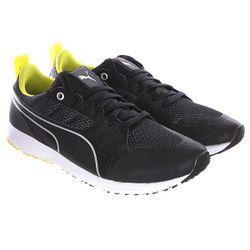 Кеды Кроссовки Низкие Mamgp Pitlane Nightcat Black/Sulphur Puma                                                                                                              чёрный цвет