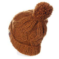 Шапка С Помпоном Женская Dc Tayce Cathay Dcshoes                                                                                                              коричневый цвет