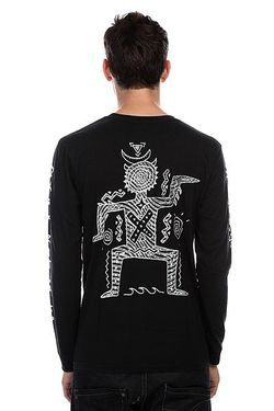 Лонгслив Dark Rituals Black Quiksilver                                                                                                              чёрный цвет