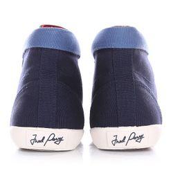 Кеды Кроссовки Высокие Женские Riley Canvas Navy Fred Perry                                                                                                              синий цвет