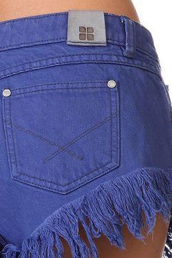 Шорты Джинсовые Женские The Insiders Dipper Shorts Insight                                                                                                              синий цвет