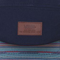 Бейсболка Пятипанелька Davis 5 Panel Camp Woven Vans                                                                                                              синий цвет